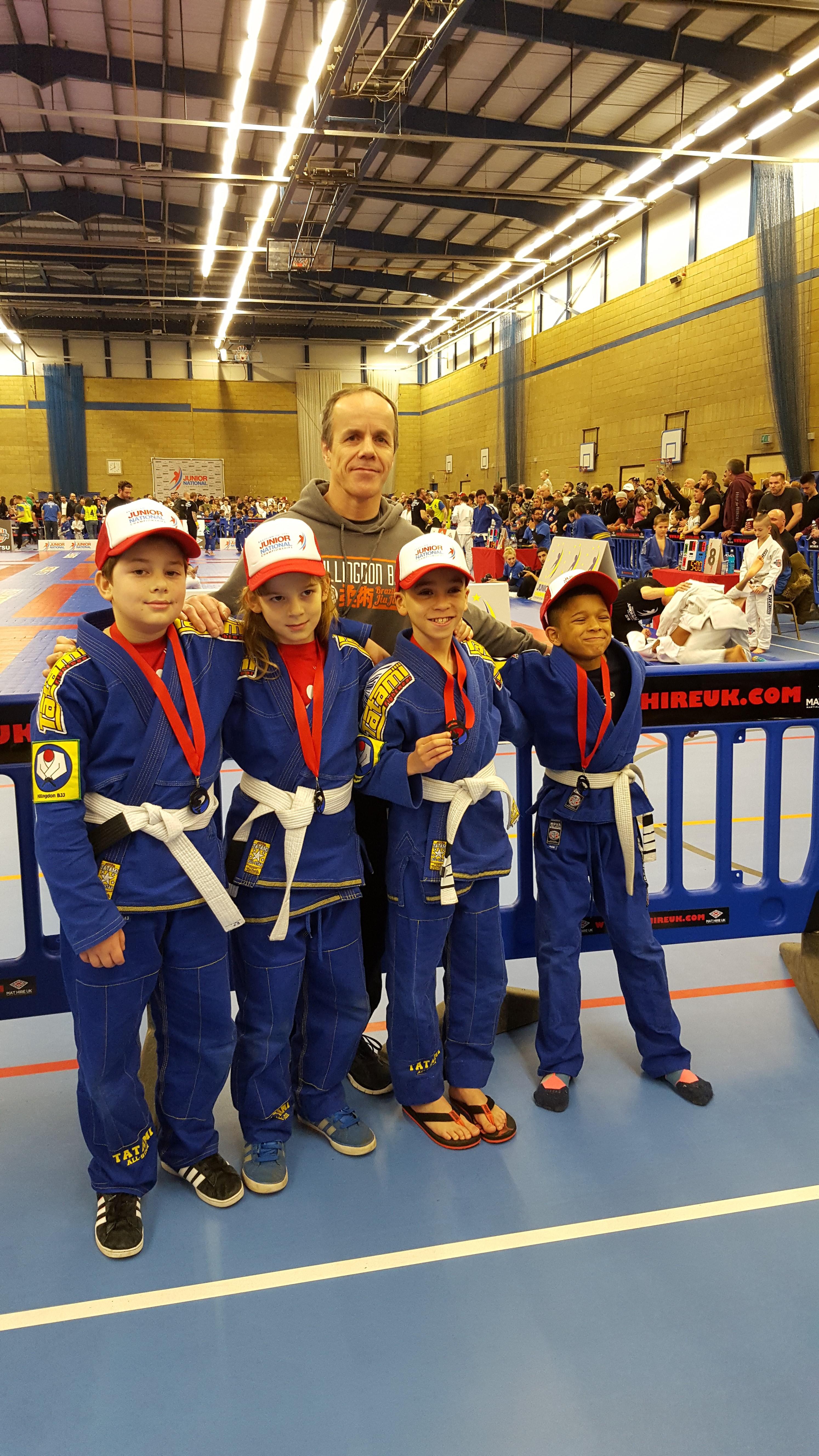 Success at the Junior Nationals – Hillingdon Brazilian Jiu-Jitsu